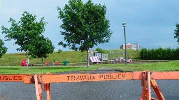 Travaux au parc des pruches - Travaux d amelioration ...