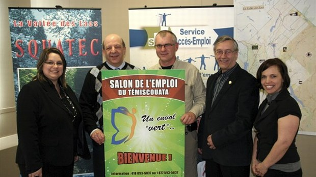 11e salon de l emploi du t miscouata un envol vert - Salon de l emploi luxembourg ...