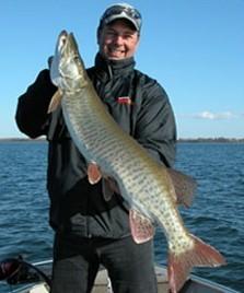 La pêche sur la digue du golfe finlandais de la photo
