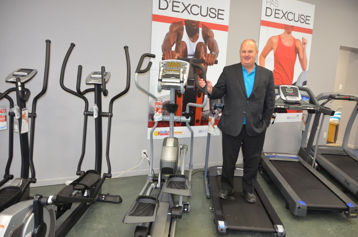 Jean marc pelletier obtient une franchise club piscine for Club piscine super fitness st jean sur richelieu