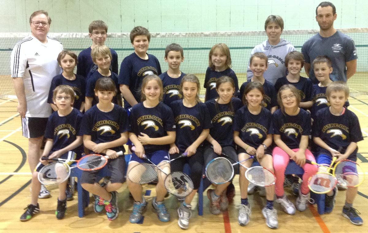 Belles performances du club de badminton au primaire - Info Dimanche