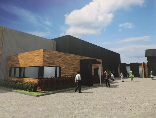 Garage municipal de rivi re du loup les travaux d butent for Garage moderne du tremblay