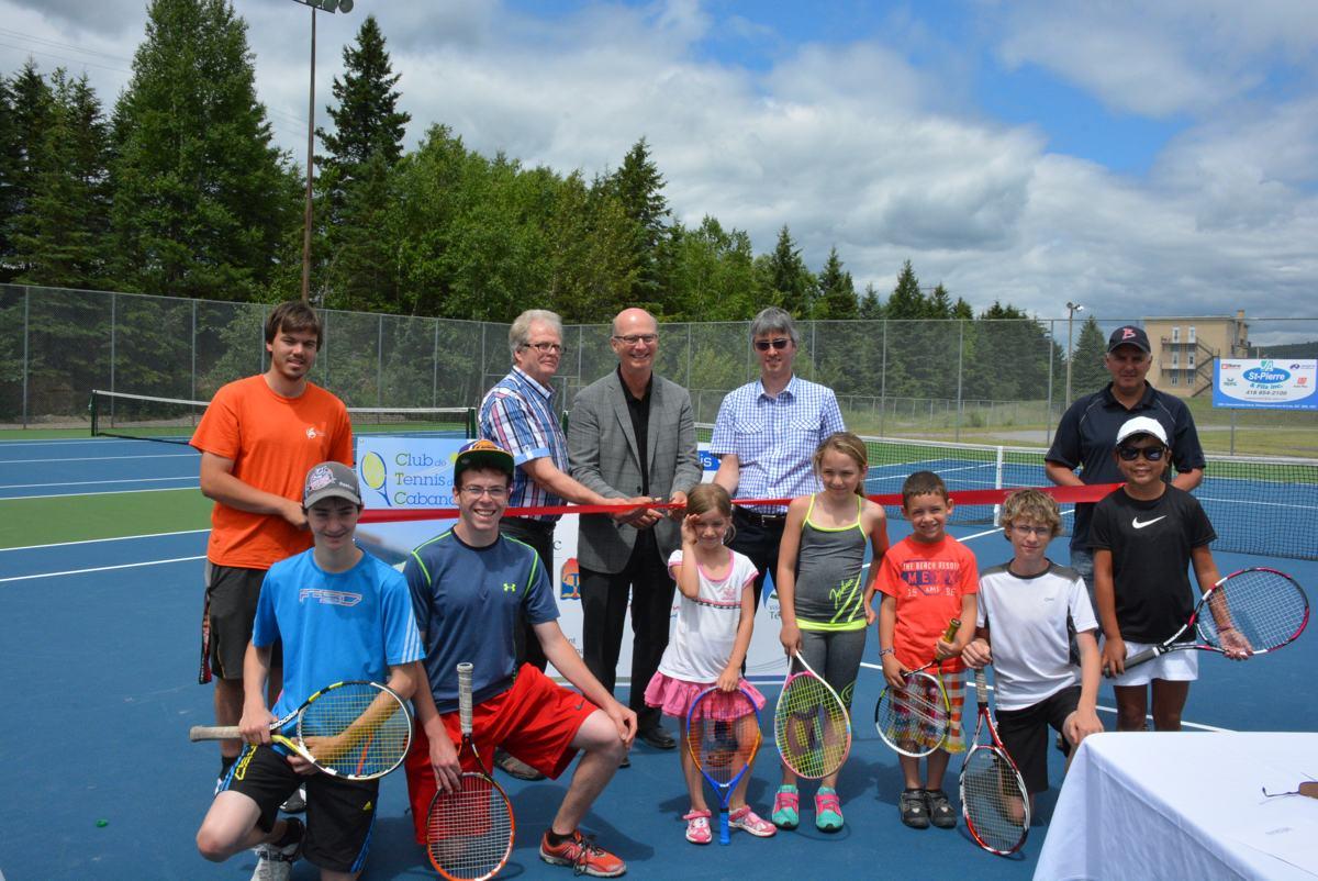 200 000 investis pour le sport t miscouata sur le lac for Club de tennis interieur saguenay