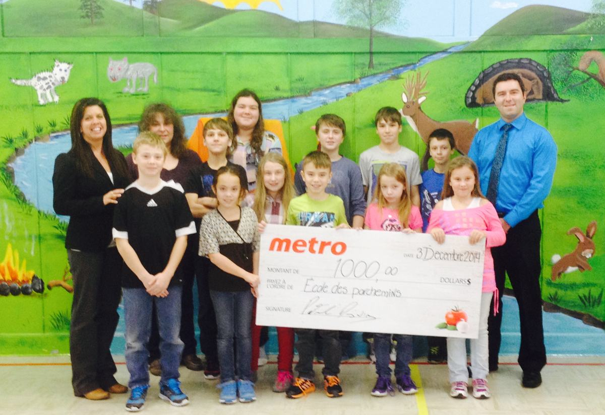 Des élèves de Saint-Elzéar gagnent 1 000 $ au programme Croque Santé de ... - Info Dimanche
