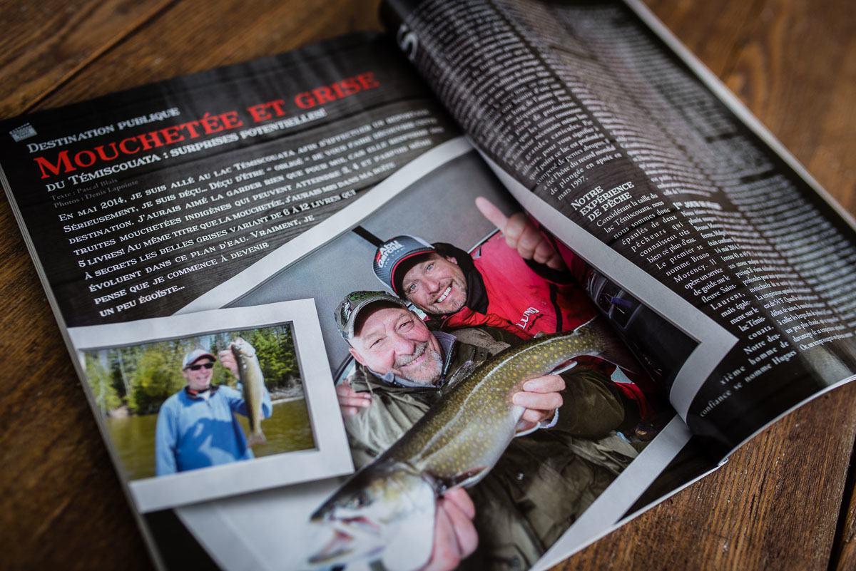La pêche au lac Témiscouata en vedette - Info Dimanche