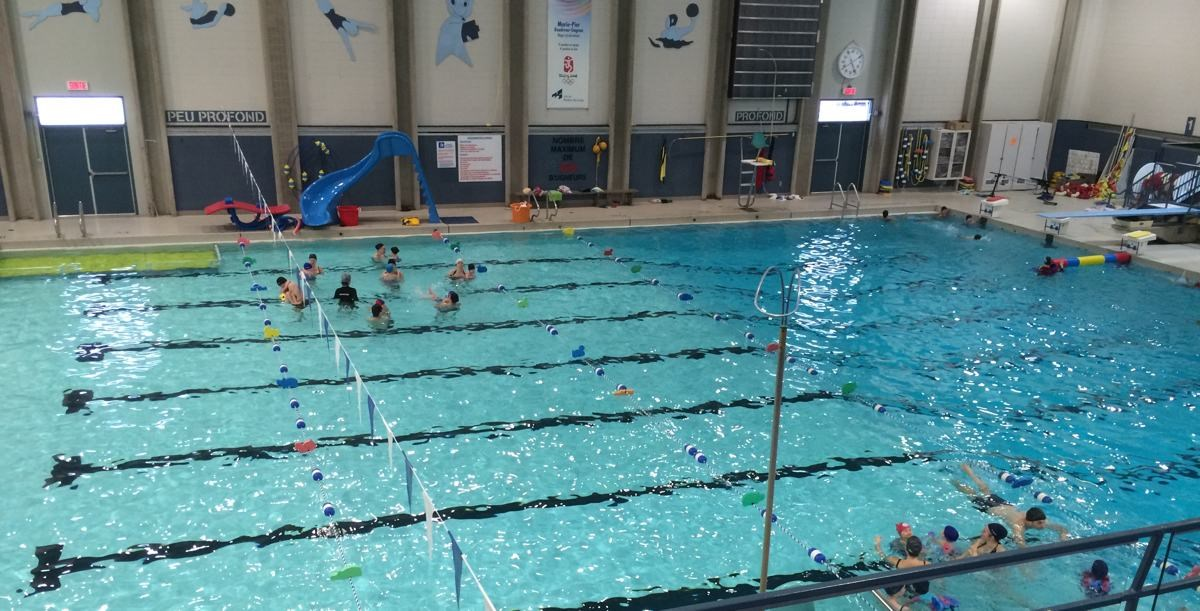 Fin de la saison estivale la piscine du c gep for Cegep jonquiere piscine
