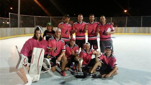 La ligue de dekhockey le triangle couronne ses champions - Gagnant coupe de la ligue ...
