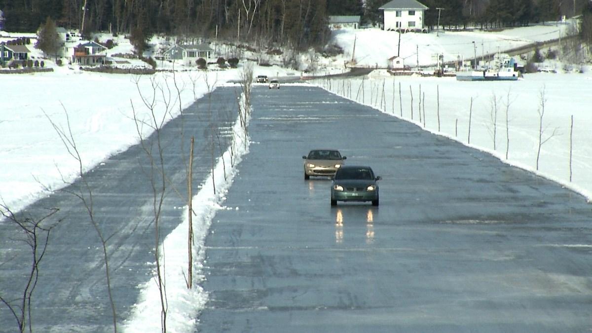 St Louis Taxi >> Pas de pont de glace entre Témiscouata-sur-le-Lac et Saint ...