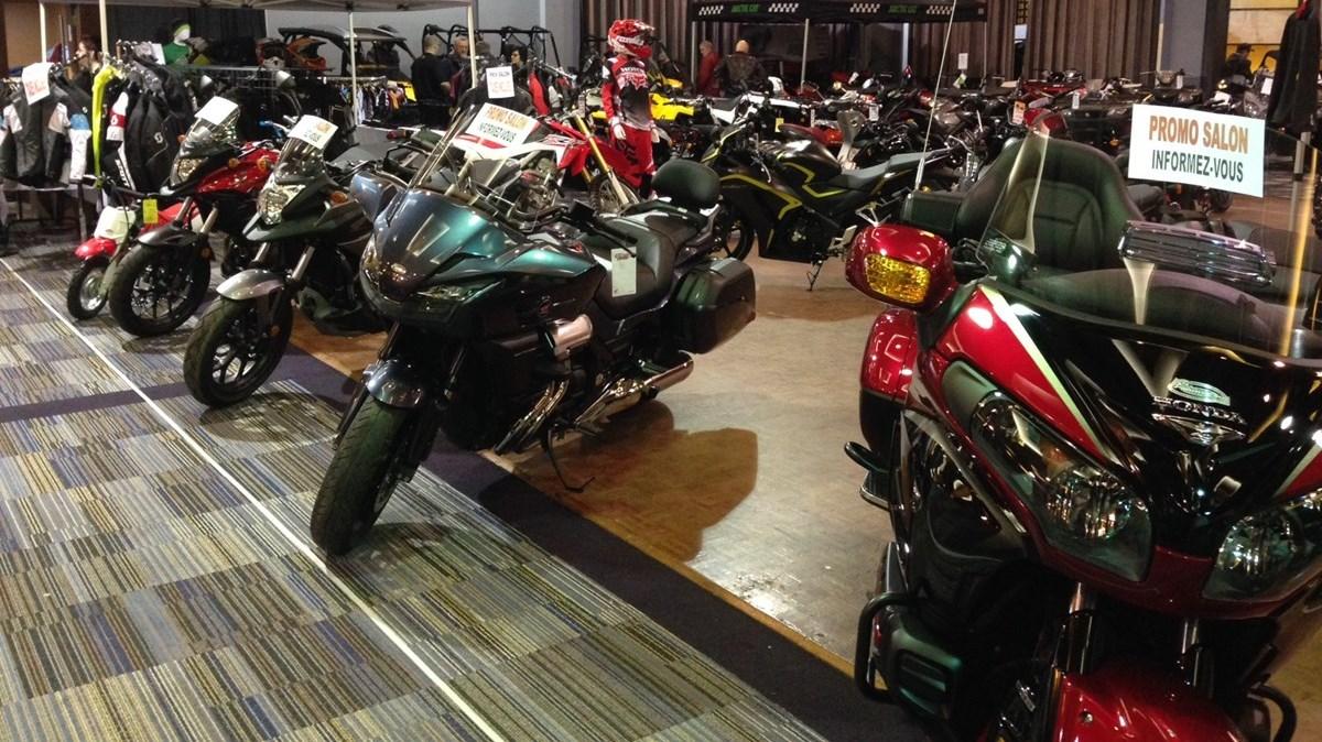 Salon de la moto et du vtt 2016 for Salon de la moto 2016