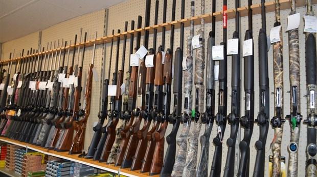 Entrée en vigueur du registre des armes d'épaule
