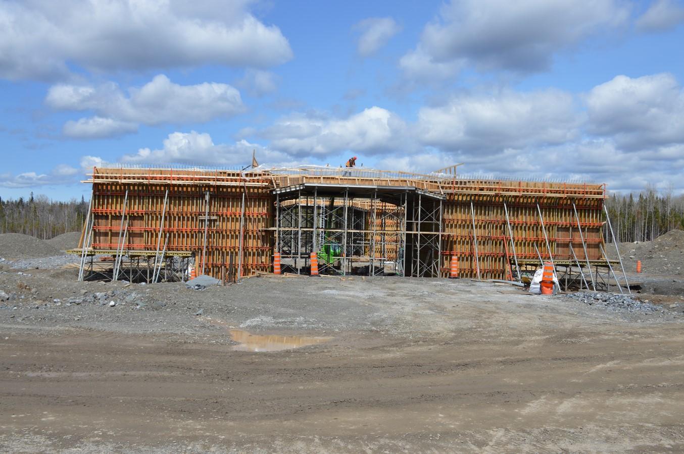 Construire Pres D Un Ruisseau mise à jour concernant les chantiers de l'autoroute 85