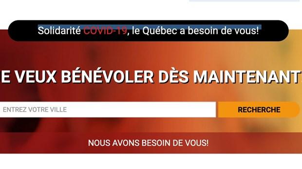 François Legault demande aux Québécois de faire du bénévolat