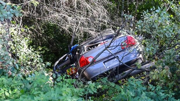 Sortie de route mortelle sur le chemin Fraserville