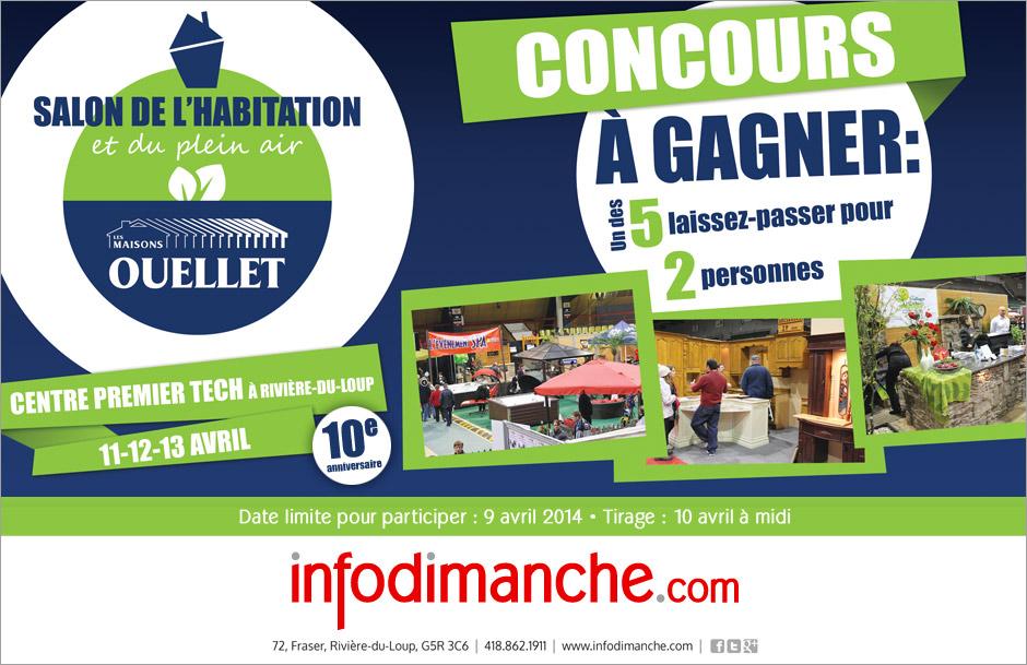 Salon de l 39 habitation et du plein air concours for Salon hotellerie de plein air