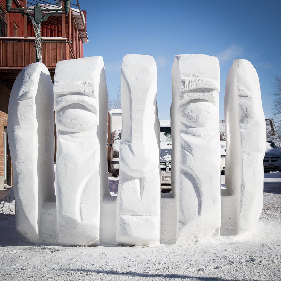 concours intercoll u00e9gial de sculpture sur neige 2015